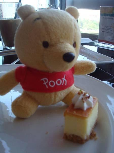 小尼偷吃起司蛋糕