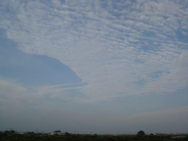 我喜歡這樣的藍天白雲