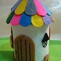 [童話故事系列]--彩色的屋頂還有木門