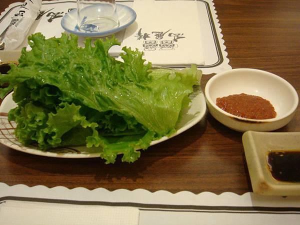 [高麗棒]--包肉吃的生菜