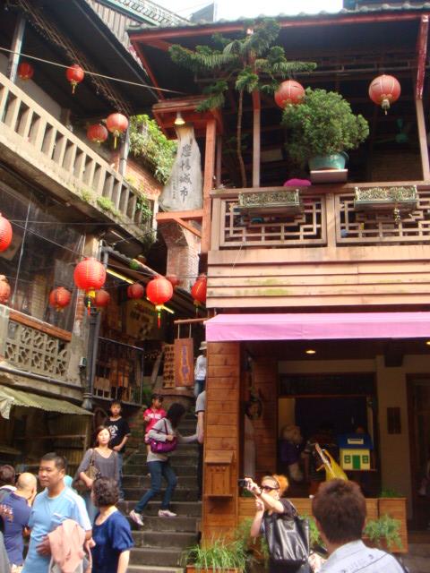[九份]--昇平戲院附近的街景,來過九份都知道!!