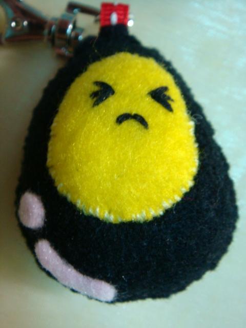 [不織布手作物]--炸彈蛋