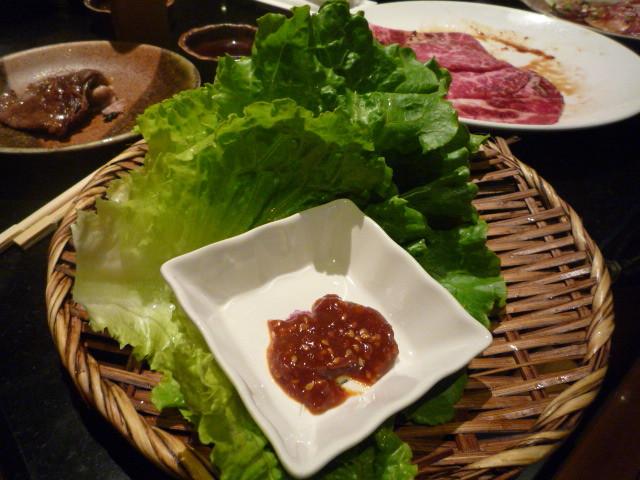 [大和燒肉]--包肉的生菜!!.jpg