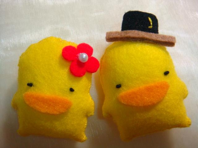 黃色小鴨情侶檔