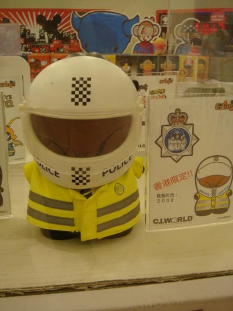 [C.I.BOYS公仔]-香港的交通警察
