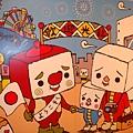 [C.I.BOYS公仔]-豆腐家族來夢時代搭摩天輪