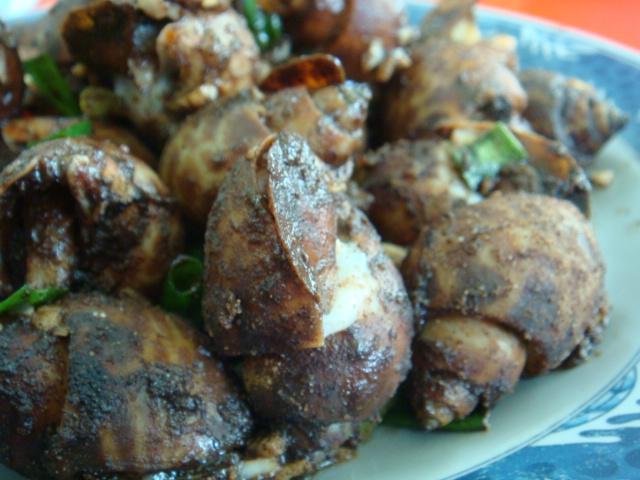 胡椒風螺,超美味!就像胡椒蝦般~