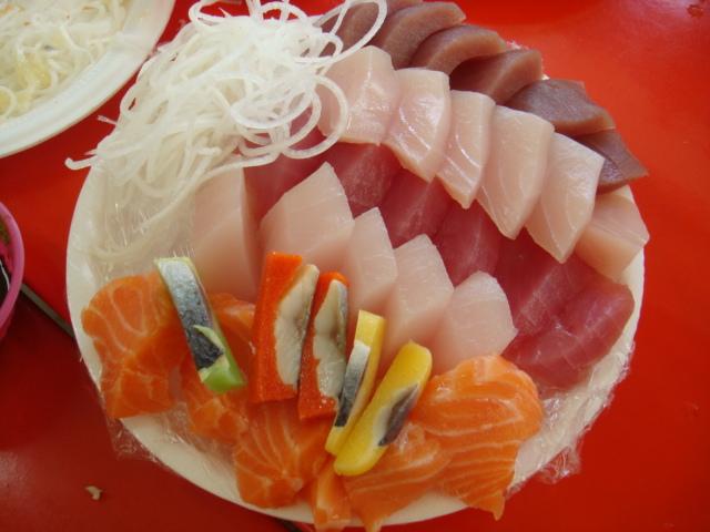 150元的生魚片!!