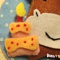 [不織布]--生日蛋糕