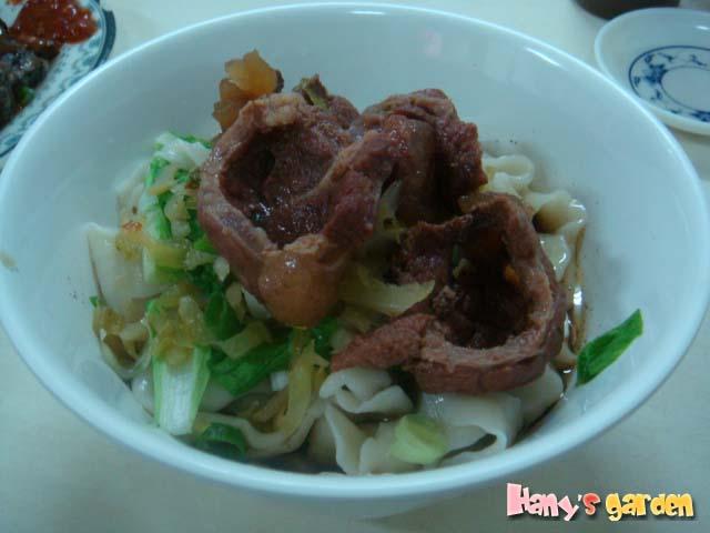 [老侯麵館]-牛肉乾拌麵