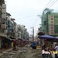 翻修中的老街