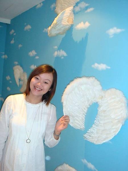我想像自己是天使~