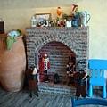 童話式的壁爐