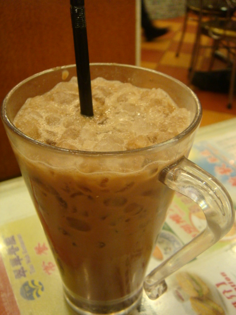 『香港翠華餐廳』--凍鴛鴦