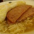 『香港翠華餐廳』--我只能說午餐肉很鹹!不好吃~