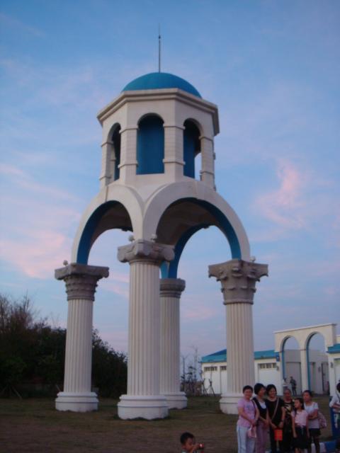 新竹‧南寮漁港--連水塔造型都這麼特殊
