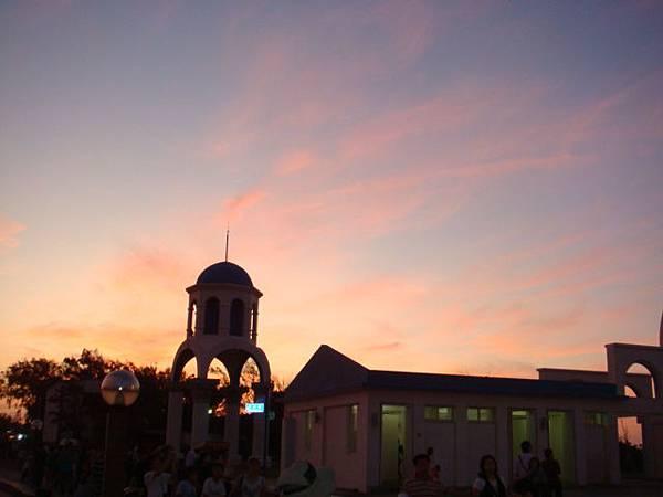 新竹‧南寮漁港--夕陽很美!!