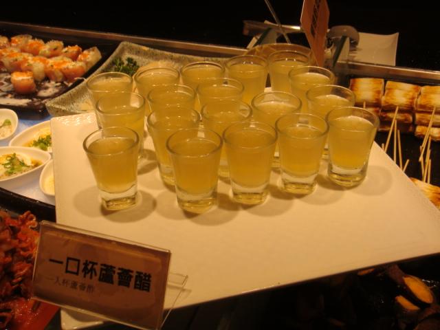 [燒肉大將]--幫助消化的蘆薈醋