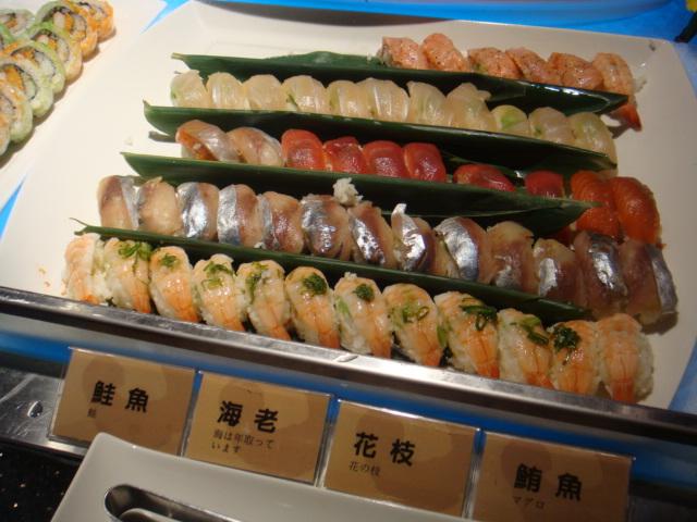 [燒肉大將]--很多種類握壽司