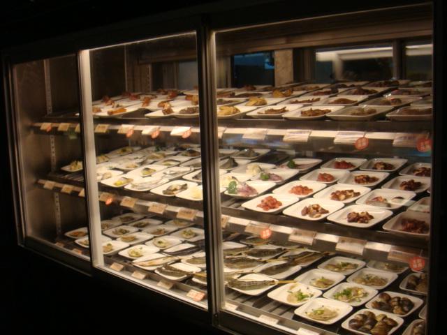 [燒肉大將]--海鮮區(魚、蝦、香腸、花枝)