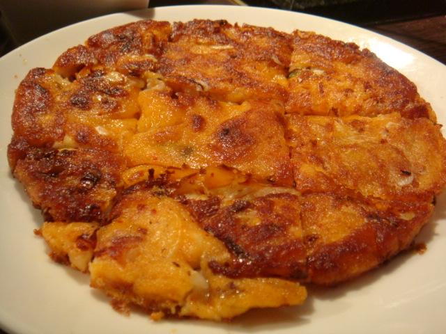 [燒肉大將]--泡菜海鮮煎餅