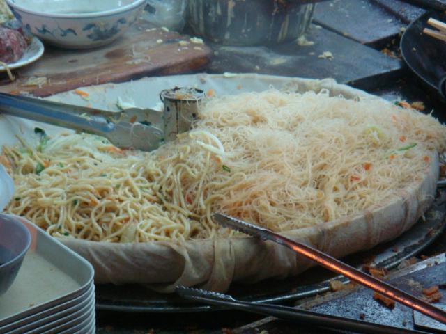 左營舊城蚵嗲--炒麵炒米粉