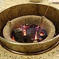 這裡用的是木炭