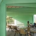 『南投的紙教堂』--這裡還有咖啡廳