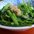 『埔里的胡國雄切仔麵』--連燙青菜都好吃