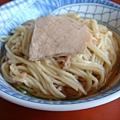 『埔里的胡國雄切仔麵』--很古早味的麵