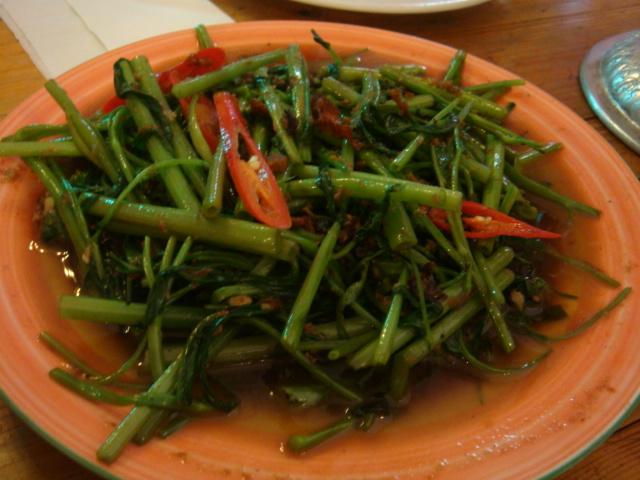 蝦醬空心菜(超有梗)