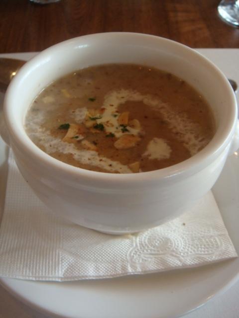 松露蘑菇湯