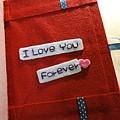 [不織布相簿]-- 手縫的LOVE FOREVER