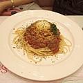思慧的肉醬義大利麵