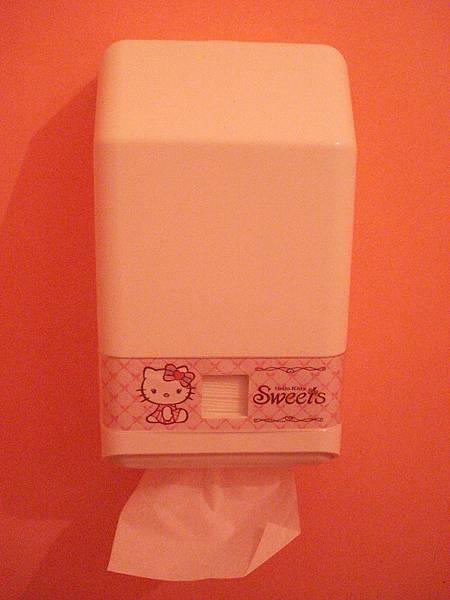廁所裡的衛生紙盒