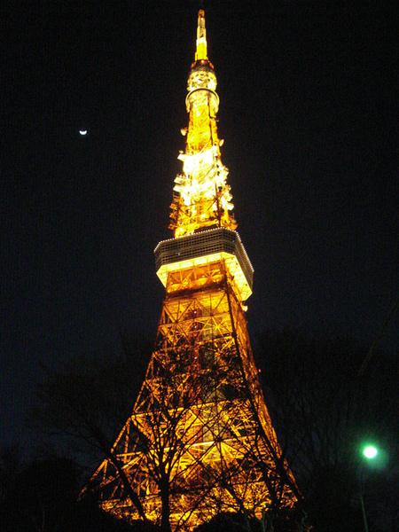 東京鐵塔!