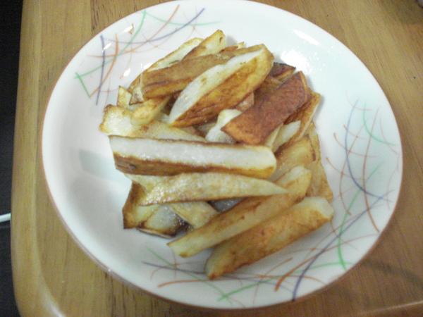 這是我煎的馬鈴薯