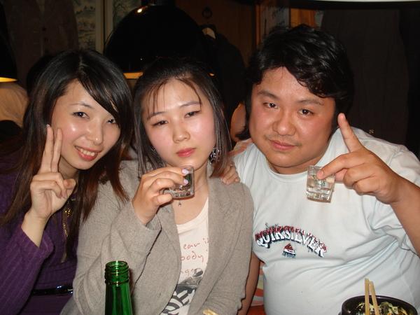 我、miyuki(韓)跟nod(住隔壁的泰國人)