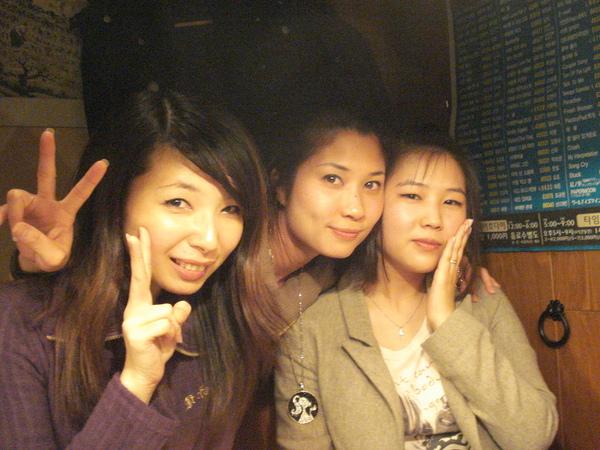 我、Jan(泰)和miyuki(韓)