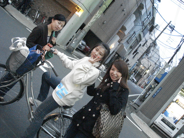 只有miyuki騎自転車
