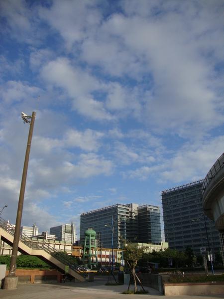 2009-9-24南港展覽館的天空