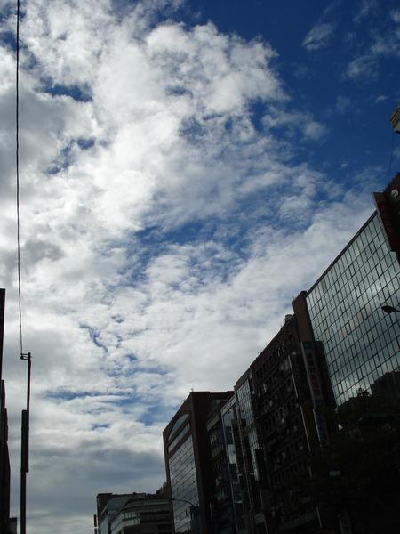 今天的天空