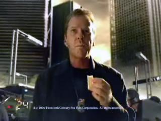 Jack Bauer eats Calorie Mate