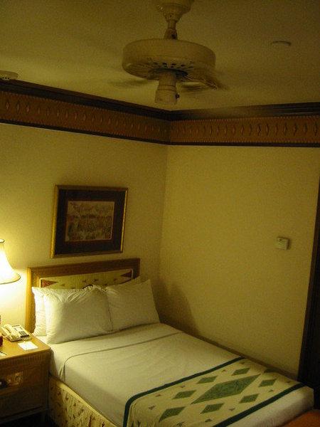 洲際的床讓我想睡