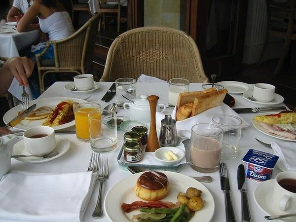早餐照,狂吃是出國的宗旨
