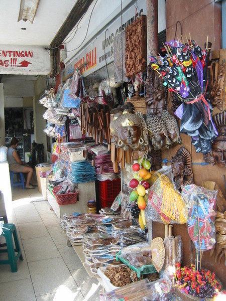 這是登巴薩,相當於台灣的菜市場