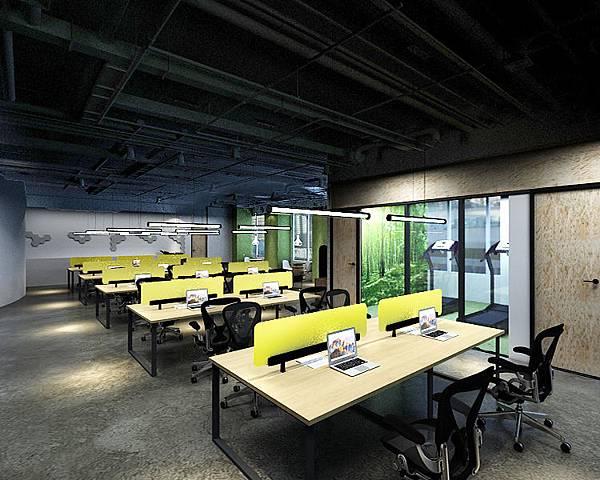 商辦空間|工業風