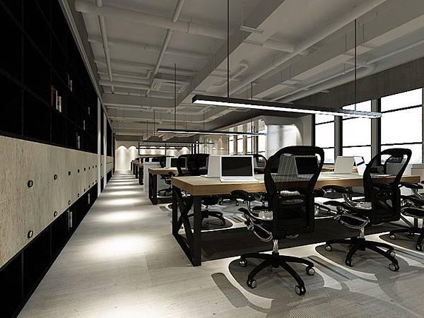 商辦空間|簡約風