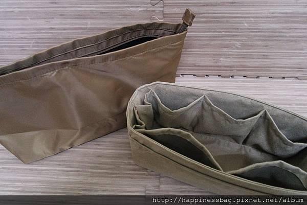 兩款袋中袋差異比較