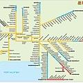 墨爾本地鐵圖